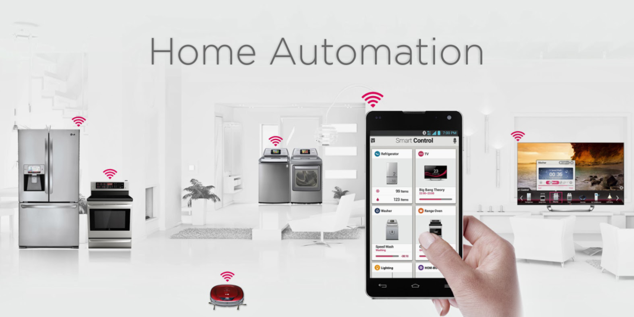 Six useful Home Automation Categories - Parkerable